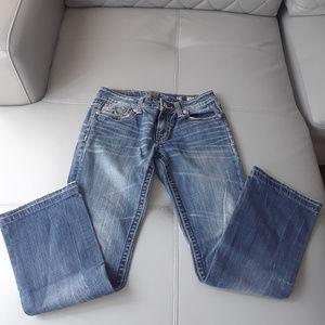 Miss Me Boot Cut Womens Denim Blue Jeans Size 29 M